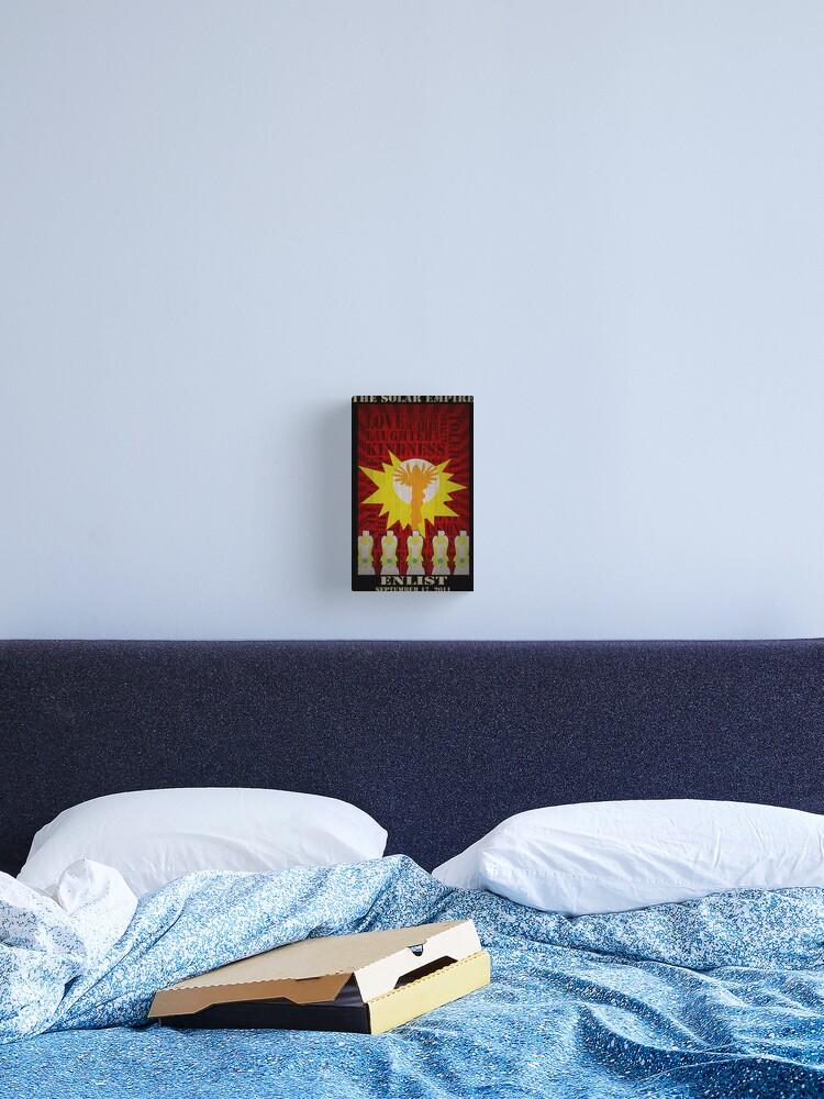 My Little Pony Solar Empire Canvas Print By Tkwondo Redbubble