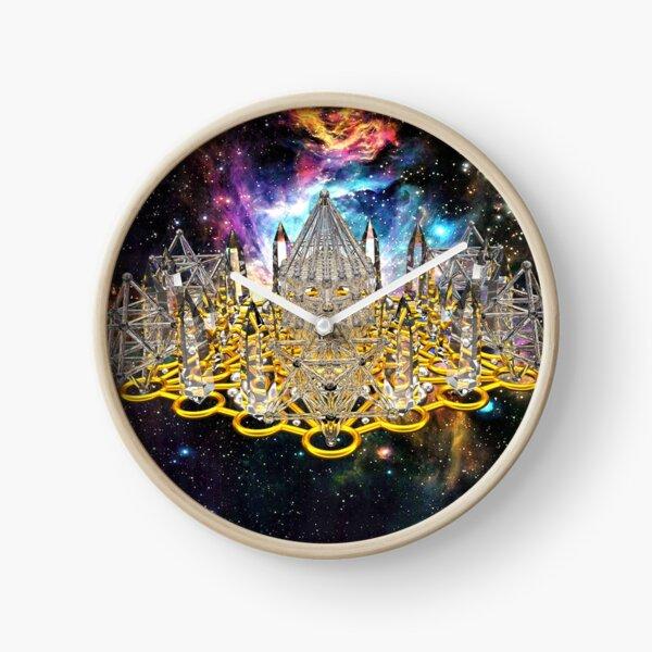 Crystal Hexagrid Matrix Stargate Clock