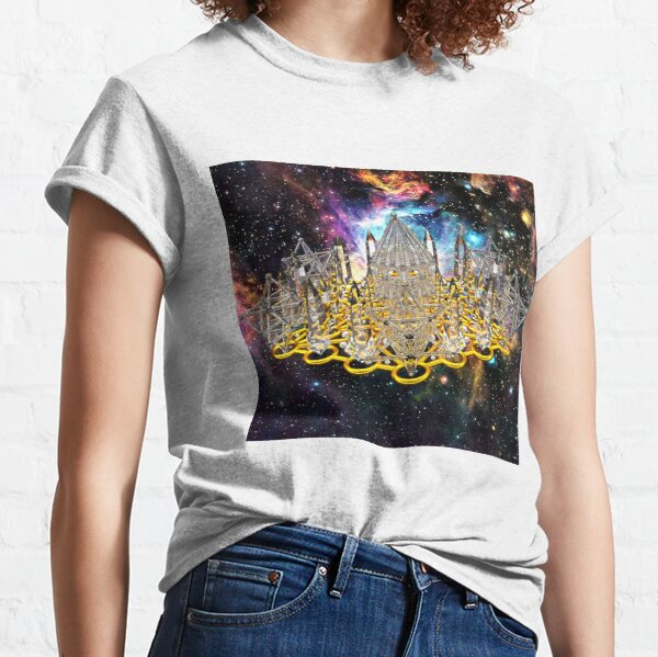 Crystal Hexagrid Matrix Stargate Classic T-Shirt