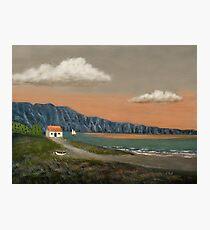 Seaside Cottage Photographic Print