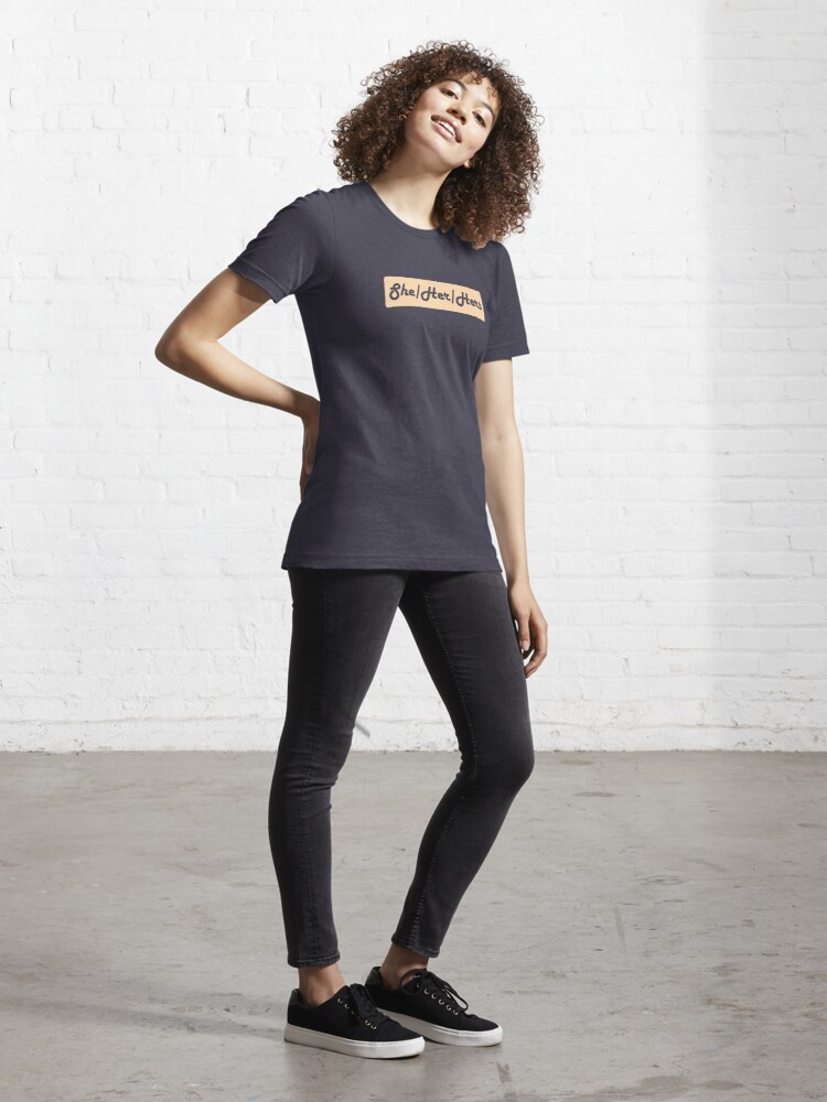 Alternate view of She/Her/Hers Preferred Pronouns Essential T-Shirt