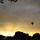 Hot air balloon flight 7 by agenttomcat