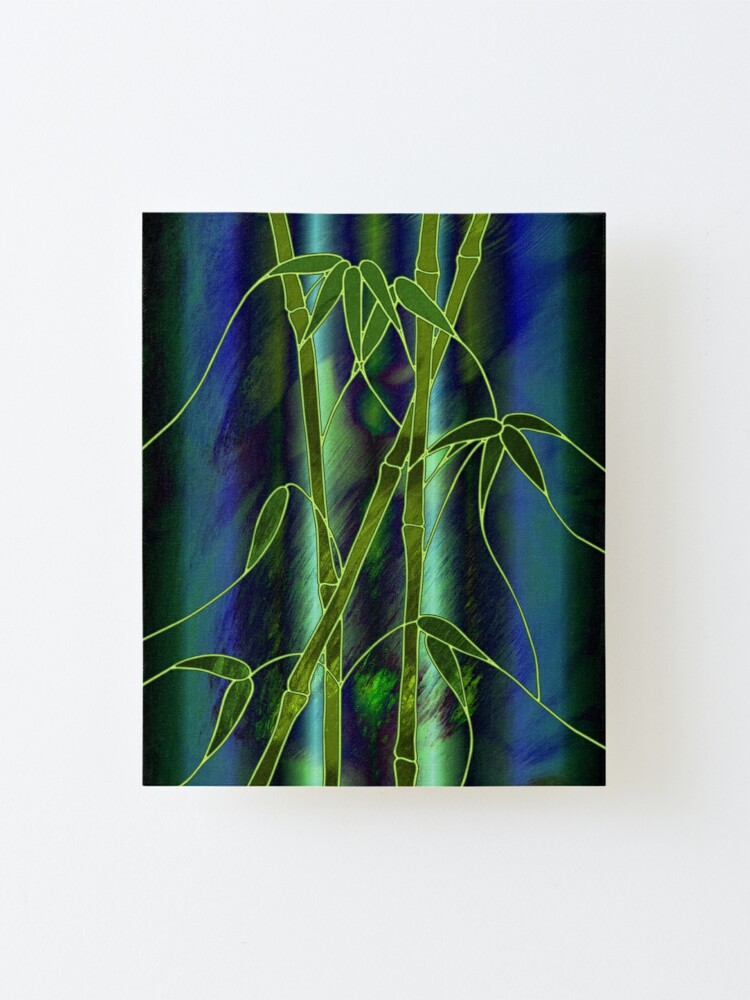 Alternate view of Bamboo Mounted Print