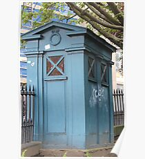 Old Fasioned Police Box Poster
