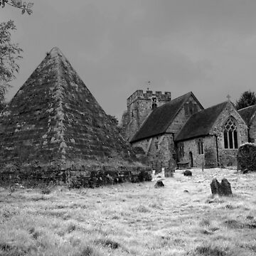 St Thomas Becket and the Pyramid by RWTA