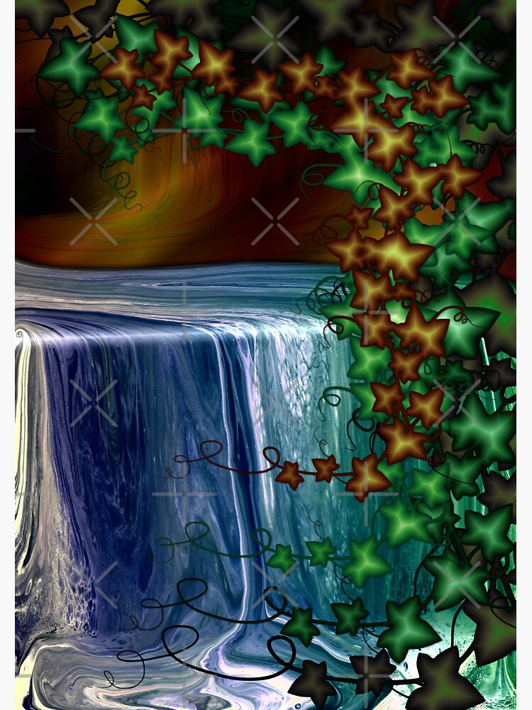 Forest Waterfall by kerravonsen