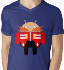 Dr. Droidbotnik Mens V-Neck T-Shirt