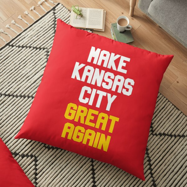 Make Kansas City Great Again Football Team Floor Pillow