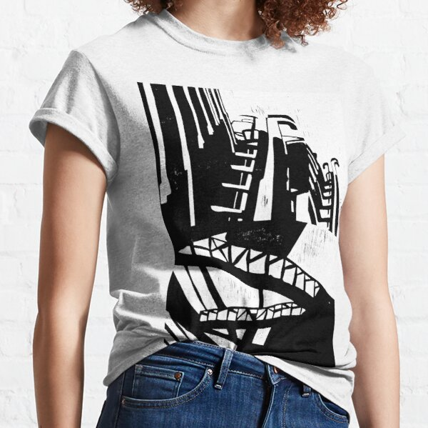 Cityscape Two Classic T-Shirt