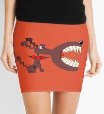 Angry DOG Mini Skirt
