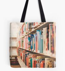 Library Time Tote Bag