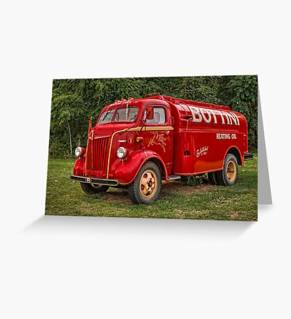 Tank truck Greeting Card