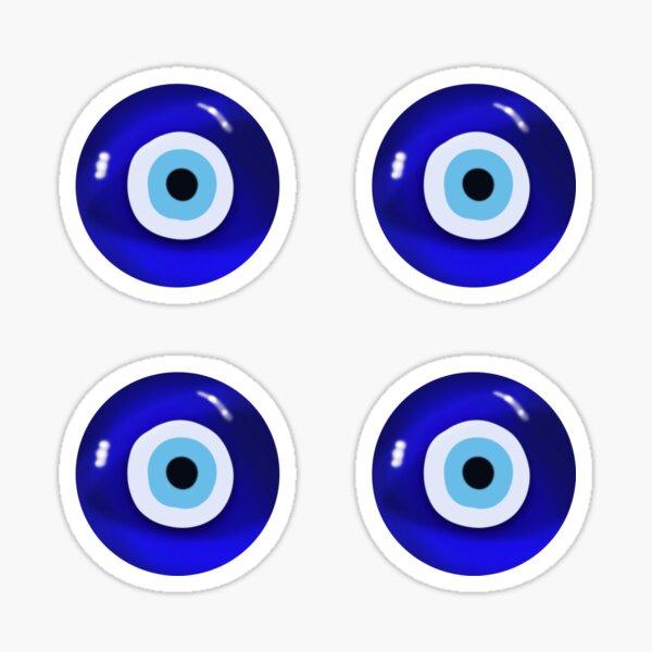 Conjunto de ojos mágicos | Ojos malvados Pegatina