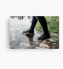 Yeezy Boost Splash Canvas Print