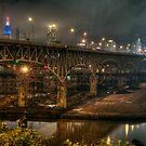 Interbelt FWY Bridge, Cleveland , Ohio by Mariano57
