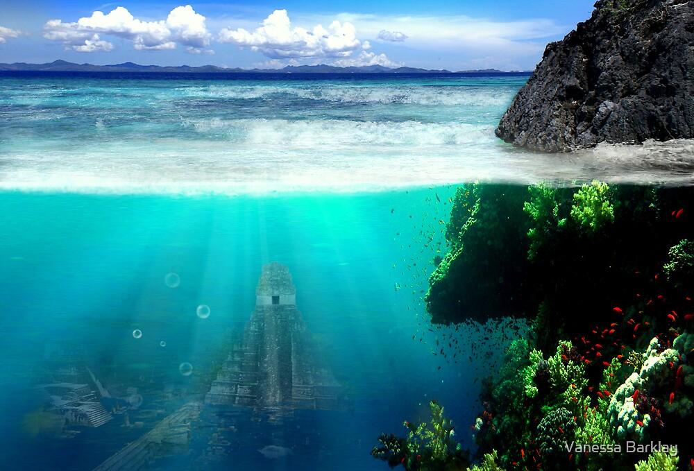 What Lies Down Below? by Vanessa Barklay