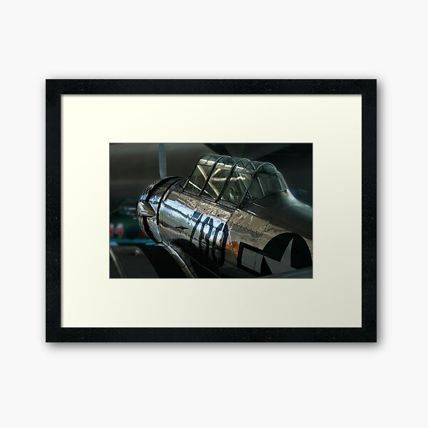 T-6 Texan Framed Art Print