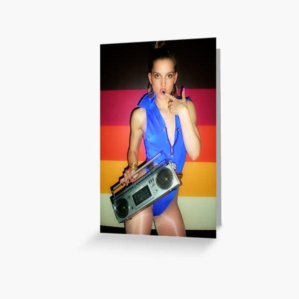 Dance Studio 101 - Solid Gold dancer - Jayne Turner  Greeting Card