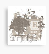 Tree Art Ecology Canvas Print