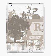 Tree Art Ecology iPad Case/Skin