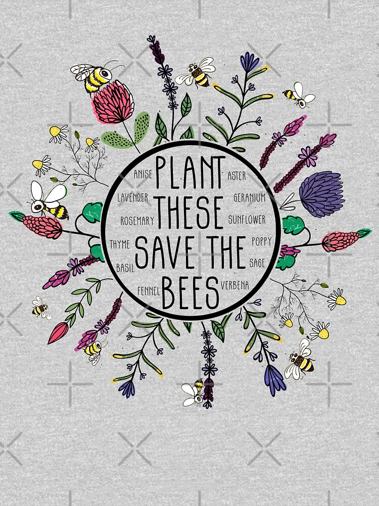 Plant These Save the Bees by AllWellia