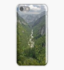 Merced Valley From Cascade iPhone Case/Skin