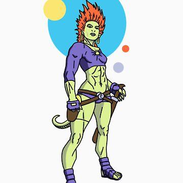 Zaura - Intergalactic Bounty Hunter by Sturstein