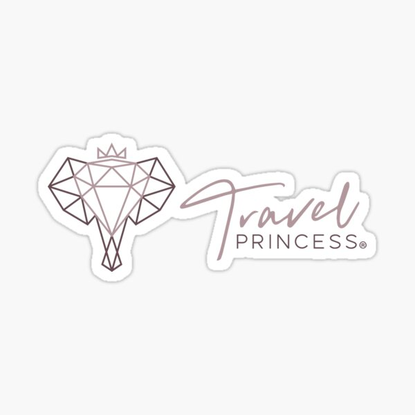 Travelprincess logo Sticker