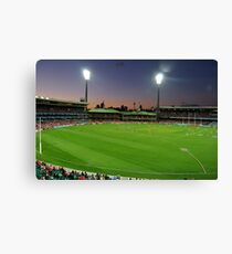 Sydney Cricket Ground - Sunset Canvas Print