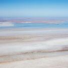 Blue Lagoon - Lake Eyre by Jenny Dean