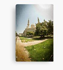 Jumeirah Mosque Canvas Print