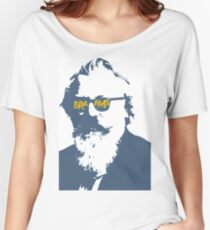 Brahms in Blue and White Women's Relaxed Fit T-Shirt