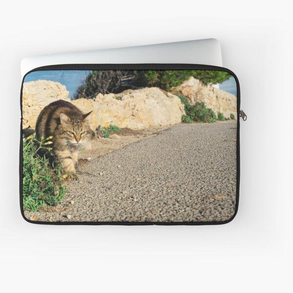 Mallorca cat Laptop Sleeve