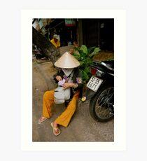 Streets of Ho Chi Minh Art Print