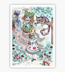Alice & The Pig Baby Sticker