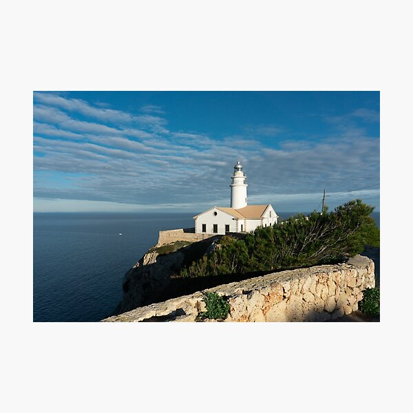 Mallorca lighthouse Photographic Print