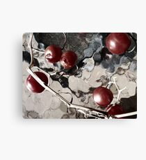 winter tomatoes Canvas Print