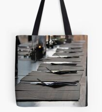 Set for a feast. Tote Bag
