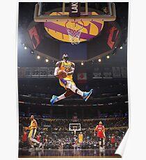 NBA DUNK - Lebron Poster