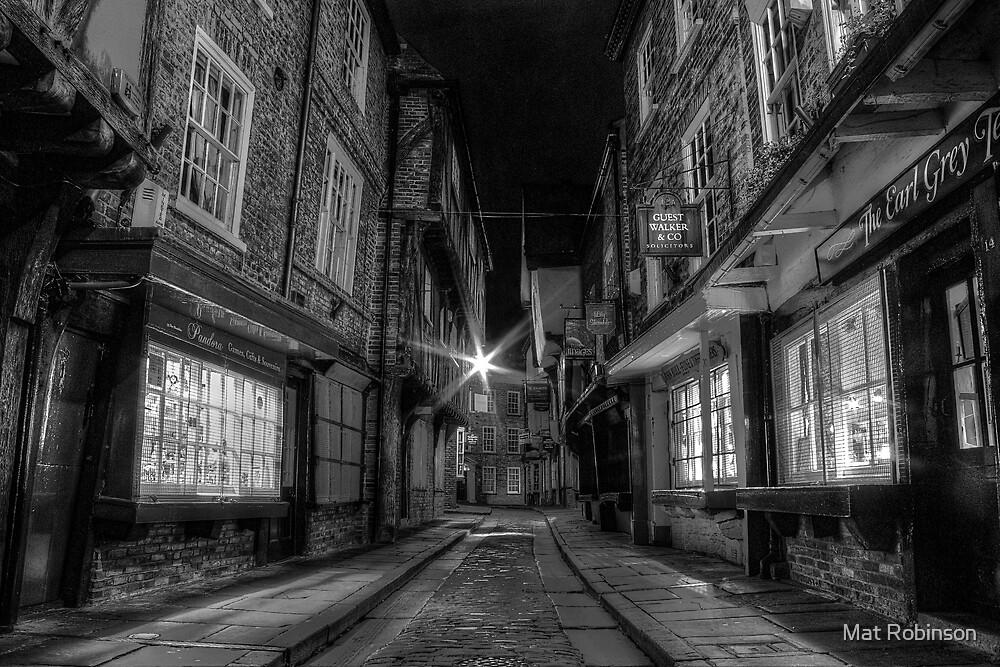 The Shambles, York by Mat Robinson
