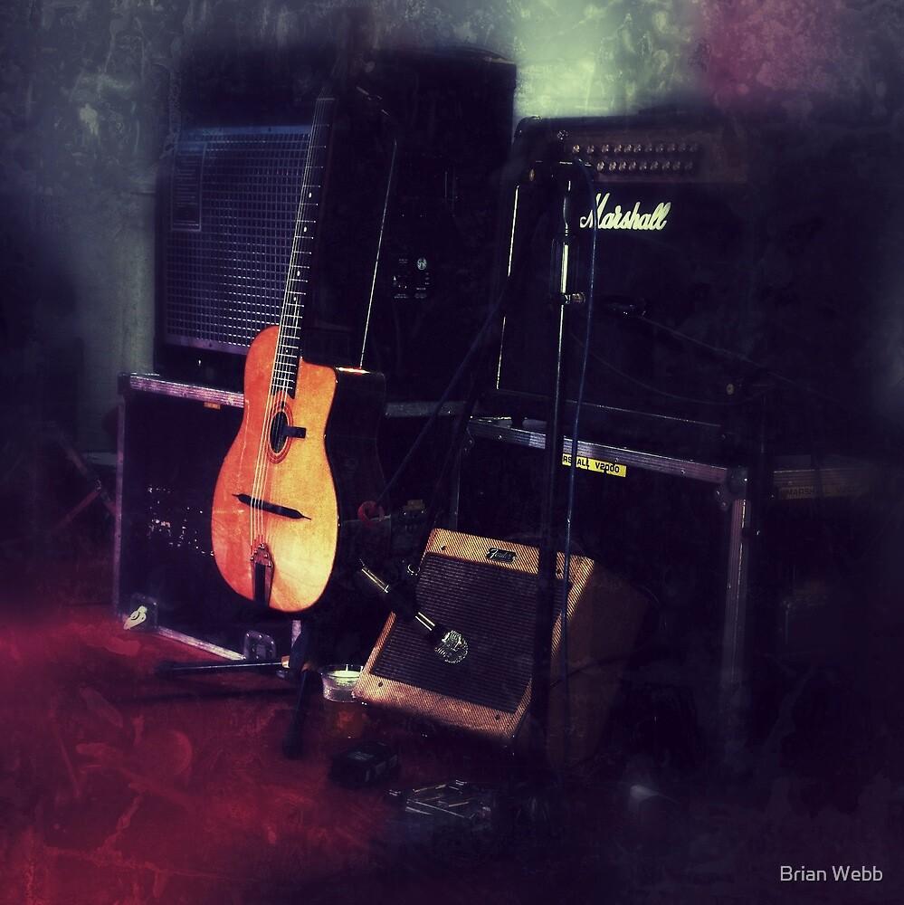 Guitar by Brian Webb