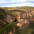 Escarpment at Jamison Valley by Erland Howden