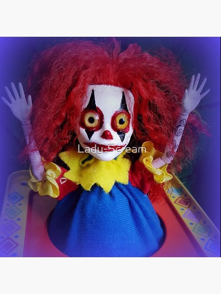 Jack In The Box Clown Horror Doll ~ Lady Scream by Lady-Scream