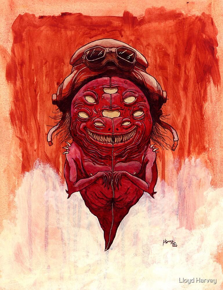 Red Shadow by Lloyd Harvey