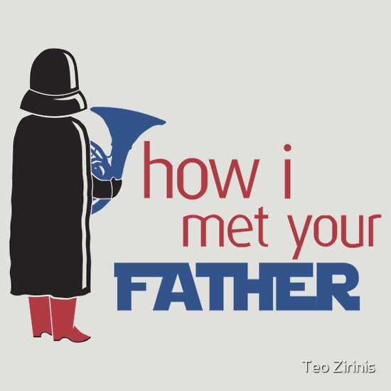 TShirtGifter presents: How I Met Your Father