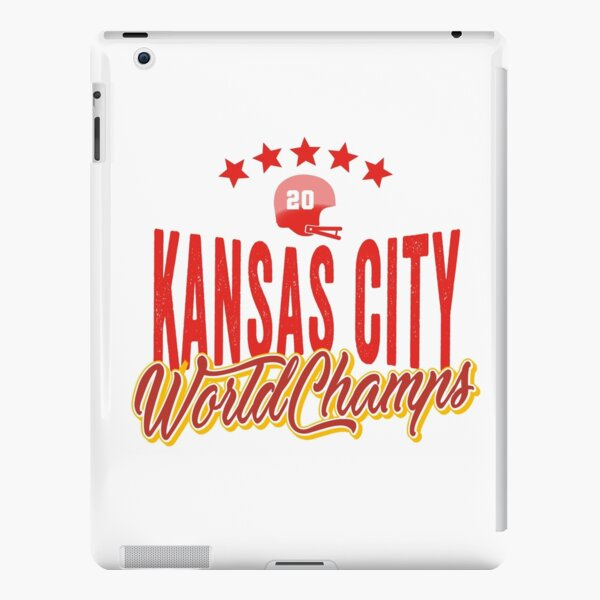 KC Face mask Kansas City facemask KC Kansas City Football Red Vintage Gear Unique Kansas City Champs Design 2020 iPad Snap Case
