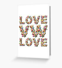 Love VW - Retro Dubbers Greeting Card