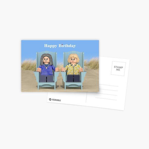 Grace & Frankie - Birthday Postcard