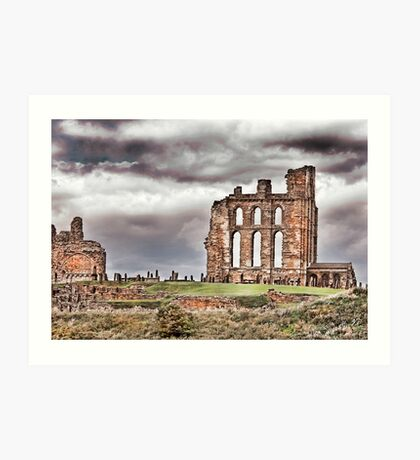 The Ruins of Tynemouth Priory Art Print