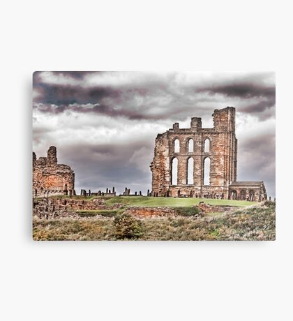 The Ruins of Tynemouth Priory Metal Print